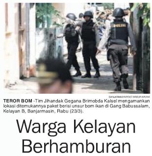 Teror Bom Banjarmasin