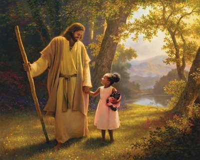 Walking with Jesus Greg Olsen