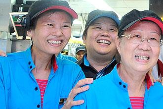 Pekerja Lansia Singapura